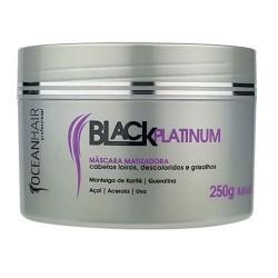 Ocean Hair Tonisierende Maske aus schwarzem Platin